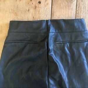 Zara Pants - Zara vegan leather high waisted legging